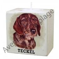 Bougeoir chien - Teckel