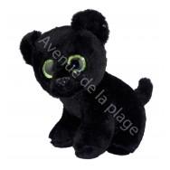 Peluche bébé Panthère noire yeux scintillants
