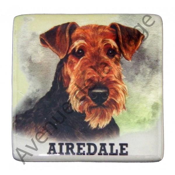 magnet chien airedale pas ch re achat vente avenue de. Black Bedroom Furniture Sets. Home Design Ideas