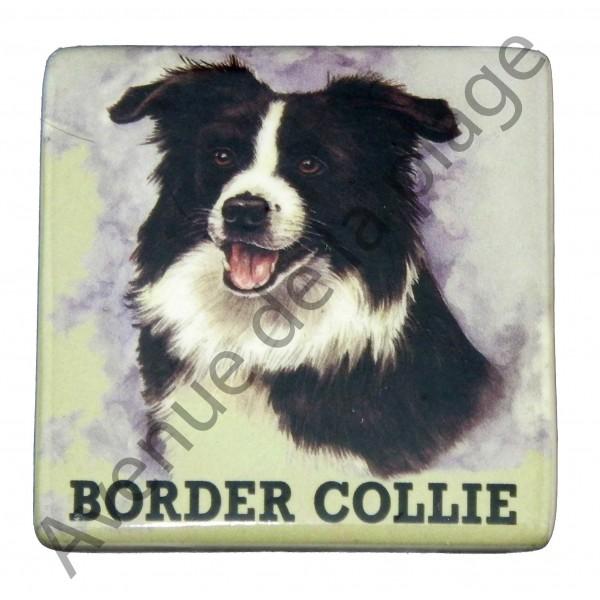 magnet chien border collie pas cher achat vente avenue de la plage. Black Bedroom Furniture Sets. Home Design Ideas