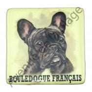 Magnet chien Bouledogue Français