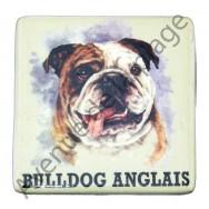 Magnet chien Bulldog Anglais