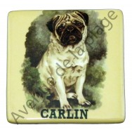 Magnet chien Carlin