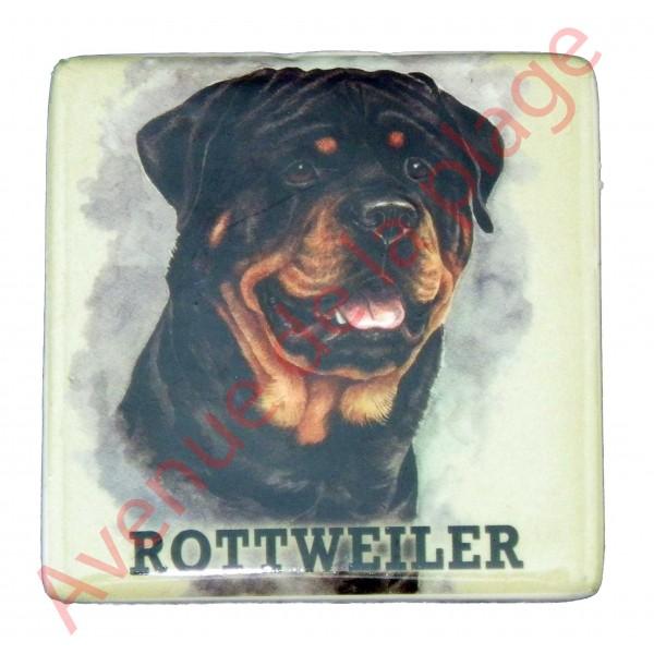 magnet chien rottweiler pas cher achat vente avenue de la plage. Black Bedroom Furniture Sets. Home Design Ideas
