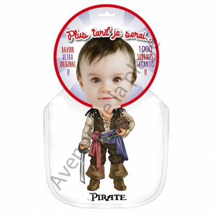 Bavoir bébé humoristique Pirate