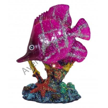 Statuette petit poisson exotique modèle A.