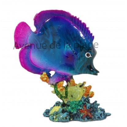 Statuette poisson exotique modèle A.