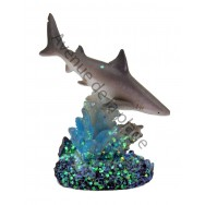 Statuette requin blanc 7 cm