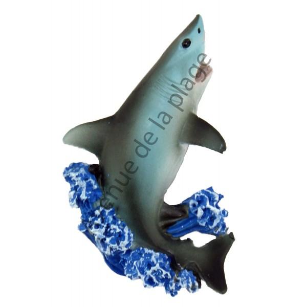 magnet requin blanc pas cher achat vente avenue de la plage. Black Bedroom Furniture Sets. Home Design Ideas