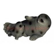 Figurine phoque avec bébé