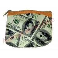 Porte monnaie 100 Dollars