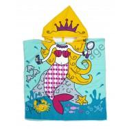Poncho, Cape de bain Sirène Princesse des Mers