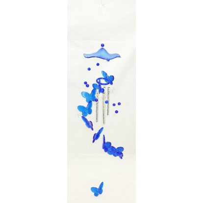 Carillon mobile papillon 65 cm