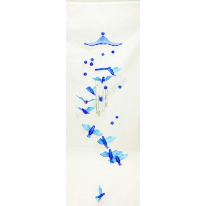 Carillon mobile oiseaux 65 cm