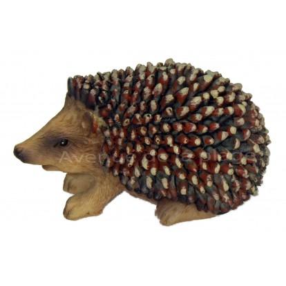 Figurine hérisson 7.5 cm en résine, modèle A.