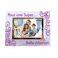 "Cadre photo ""Super Belle-Maman"""