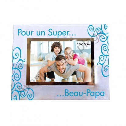 cadre photo super beau papa achat vente avenue de la plage. Black Bedroom Furniture Sets. Home Design Ideas