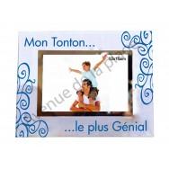 "Cadre photo ""Mon Tonton"""