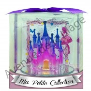 Figurine Château de Princesse en verre