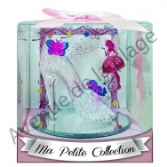 Figurine chaussure de princesse en verre