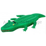 Crocodile gonflable 168 cm