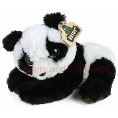 Peluche bébé Panda yeux scintillants