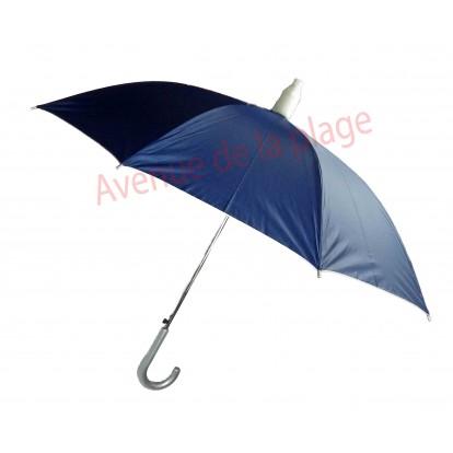 Parapluie bleu avec étui télescopique