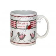 Tasse mug poule - Les petites cocottes
