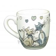Tasse mug famille chat