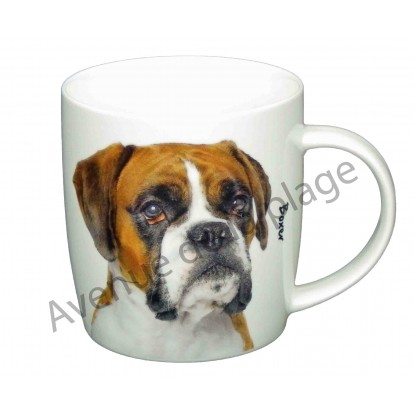 mug chien boxer pas cher achat vente avenue de la plage. Black Bedroom Furniture Sets. Home Design Ideas