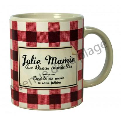 """Mug humoristique """"Jolie Mamie"""""""