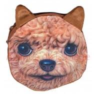Porte-monnaie tête de chien Caniche Toy