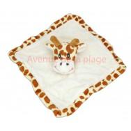 Doudou pour enfant girafe