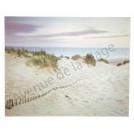Toile imprimée : Les dunes et la plage