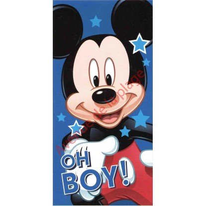 Serviette de plage Mickey Oh Boy !