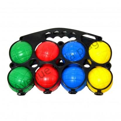 8 boules de p tanque en plastique pour enfant jeux pas cher - Boule en plastique pas cher ...