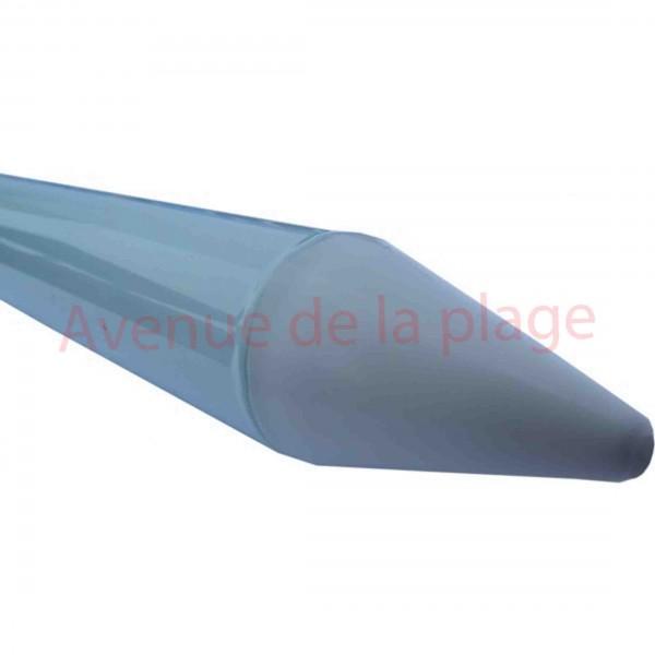 parasol de plage anti uv 50 bleu doubl 200 cm parasol. Black Bedroom Furniture Sets. Home Design Ideas