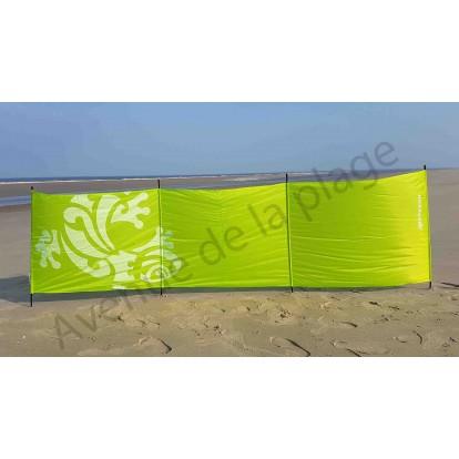 Paravent de plage Keteboo 300 x 80 cm, vert.