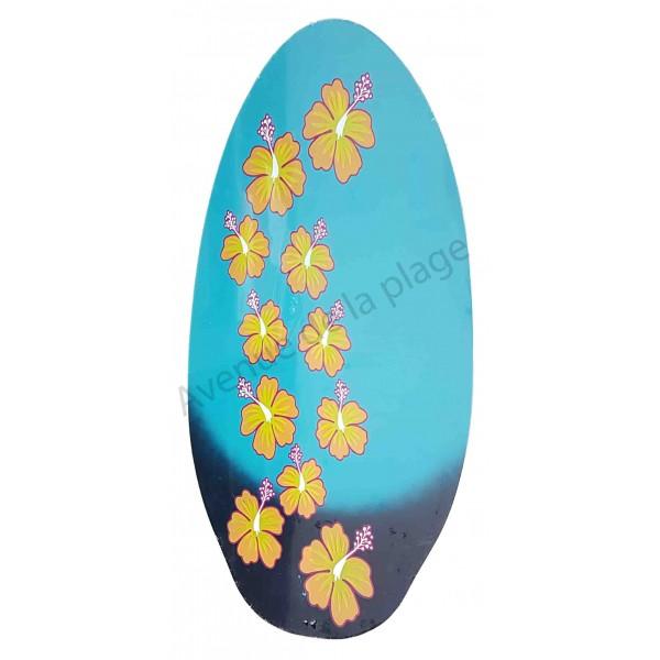 planche de skimboard fleurs d 39 hibiscus 104 cm skimboard. Black Bedroom Furniture Sets. Home Design Ideas