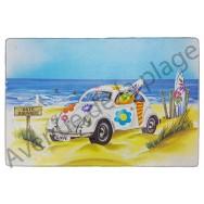 Planche à découper : Cox à la plage