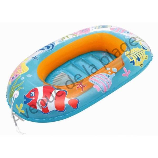 bateau gonflable pour enfant 102 cm jouet de plage pas cher. Black Bedroom Furniture Sets. Home Design Ideas