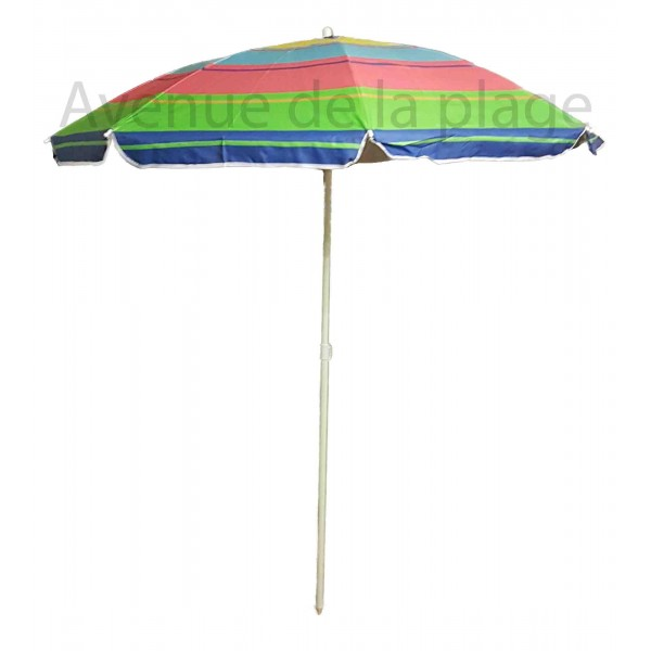 parasol de plage anti uv 50 multicolore 180 cm parasol. Black Bedroom Furniture Sets. Home Design Ideas