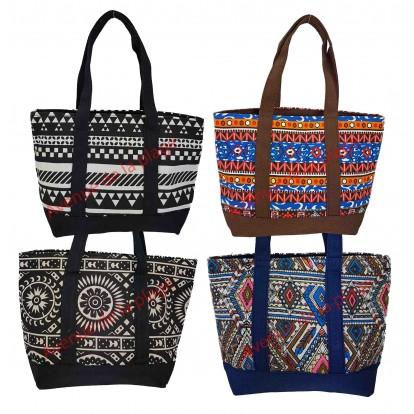 Mini sac de plage motif Aztèque