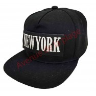 Casquette snapback New York à scratch