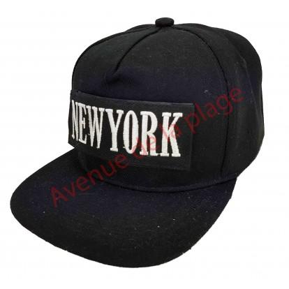 Casquette snapback New York à scratch