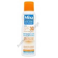 Crème solaire spray Mixa peau sensible 30