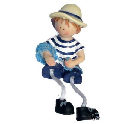 Enfant en habits marin 7 cm