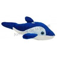Peluche dauphin sonore 28 cm