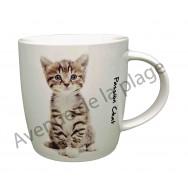 Mug chaton assis