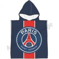 Poncho de bain Paris Saint-Germain - Cape de bain PSG